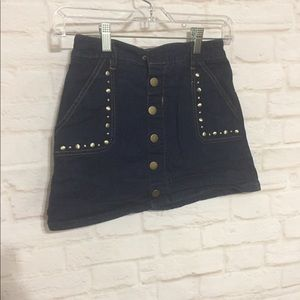 Justice Bottoms - Justice button up jean skirt 12